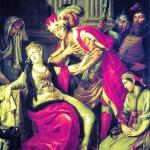 А.П. Лосенко. Владимир и Рогнеда. 1770 г.