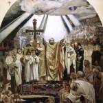 В.М. Васнецов. Крещение Руси. 1885-1896 гг.