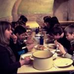 Трапеза в губернской православной гимназии