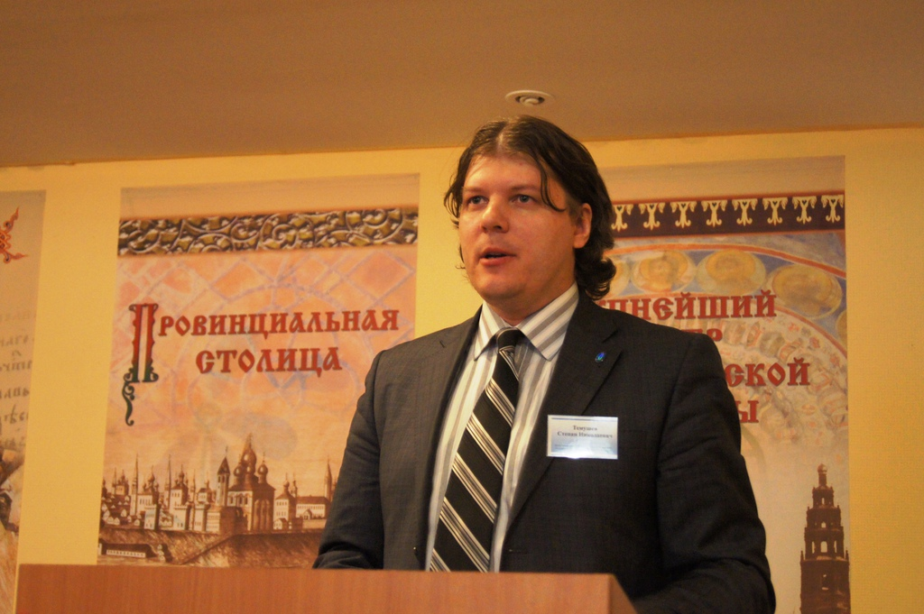 Степан Николаевич Темушев - гость из города Минска