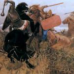 В.М. Васнецов. Бой скифов со славянами. 1881 г.