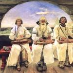 В.М. Васнецов. Гусляры. 1899 г.