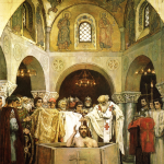 В.М. Васнецов. Крещение князя Владимира. 1890 г.