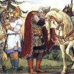 В.М. Васнецов. Прощание Олега с конем. 1899 г.