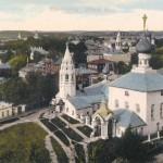 Семеновская площадь.  Почтовая открытка. Начало XX в.