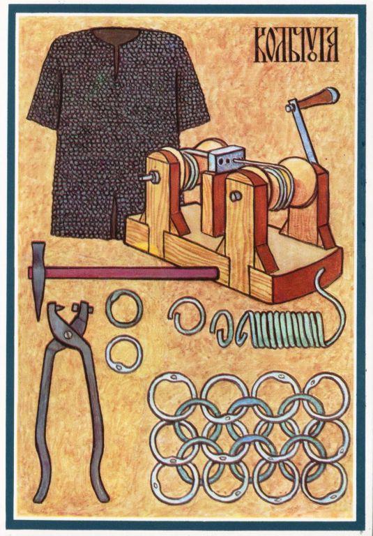 Кольчуга – «кольчатая броня»