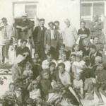 2-й сверху - А. С. Никольский, братья Манизеры, С. П. Светлицкий, справа - И. Г. Лангбард