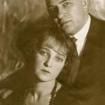 Иосиф Григорьевич Лангбард с женой Ольгой Гавриловной. 1920-е гг.