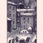 """Очистка дворов весной 1942 года. Из серии """"Ленинград в дни блокады"""""""