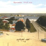 Вид на Семеновскую площадь с каланчи пожарного депо. Почтовая открытка. Начало XX в.