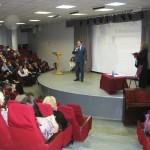 С приветственным словом к участникам конференции обратился 1-й заместитель мэра г. Ярославля Нечаев Александр Витальевич