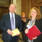 Депутат муниципалитета г. Ярославля Игорь Владиславович Блохин и Татьяна Алексеевна Труфанова