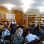 В библиотеке-филиале № 13 им. Ф.М. Достоевского