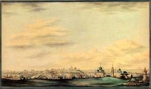 Белоногов И.М. Панорама Ярославля. 1846 г.