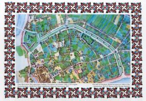 План Ярославля. 1760-1770 гг