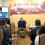 На встрече в Центральной детской библиотеке имени Ярослава Мудрого